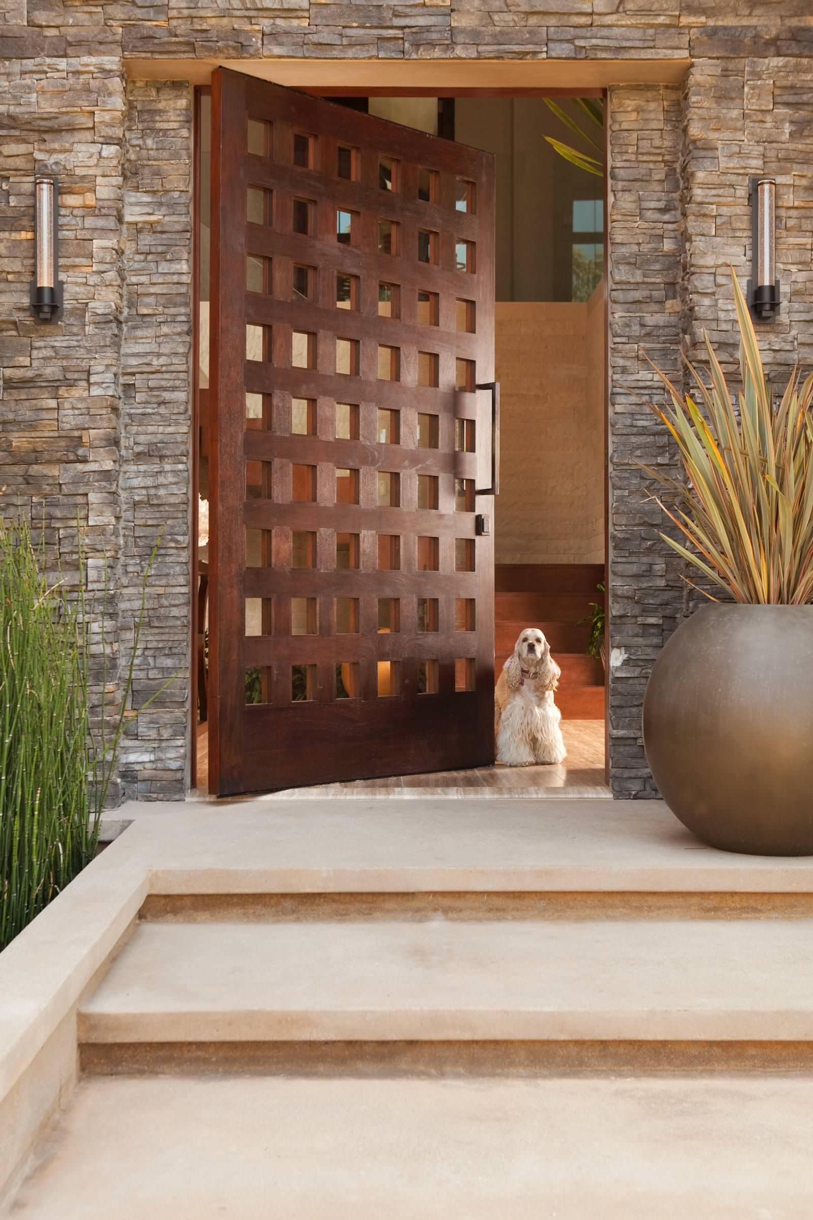 Реставрация решетчатой двери