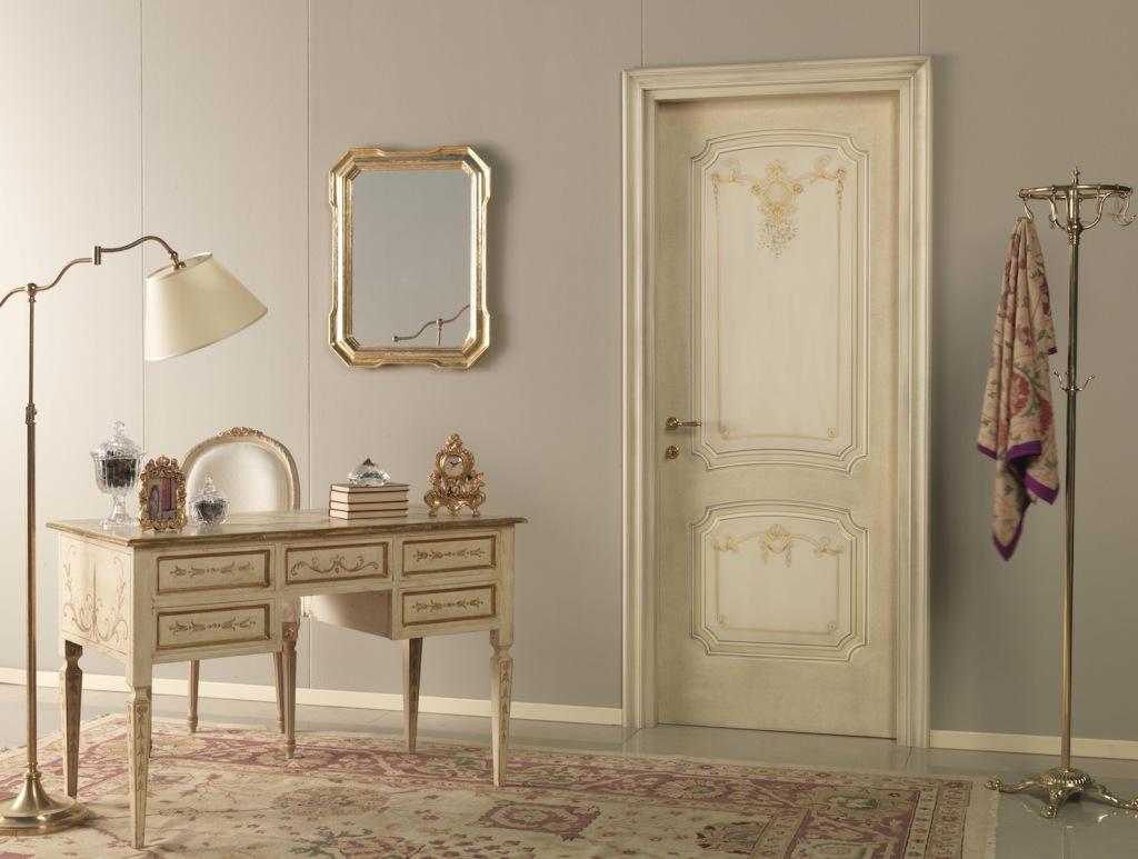 Реставрация двери с росписью