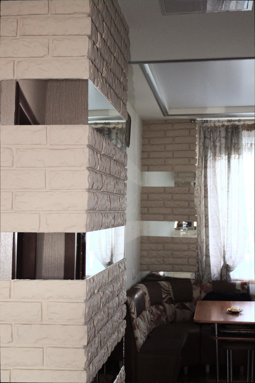 Гипсовый декоративный камень серого цвета