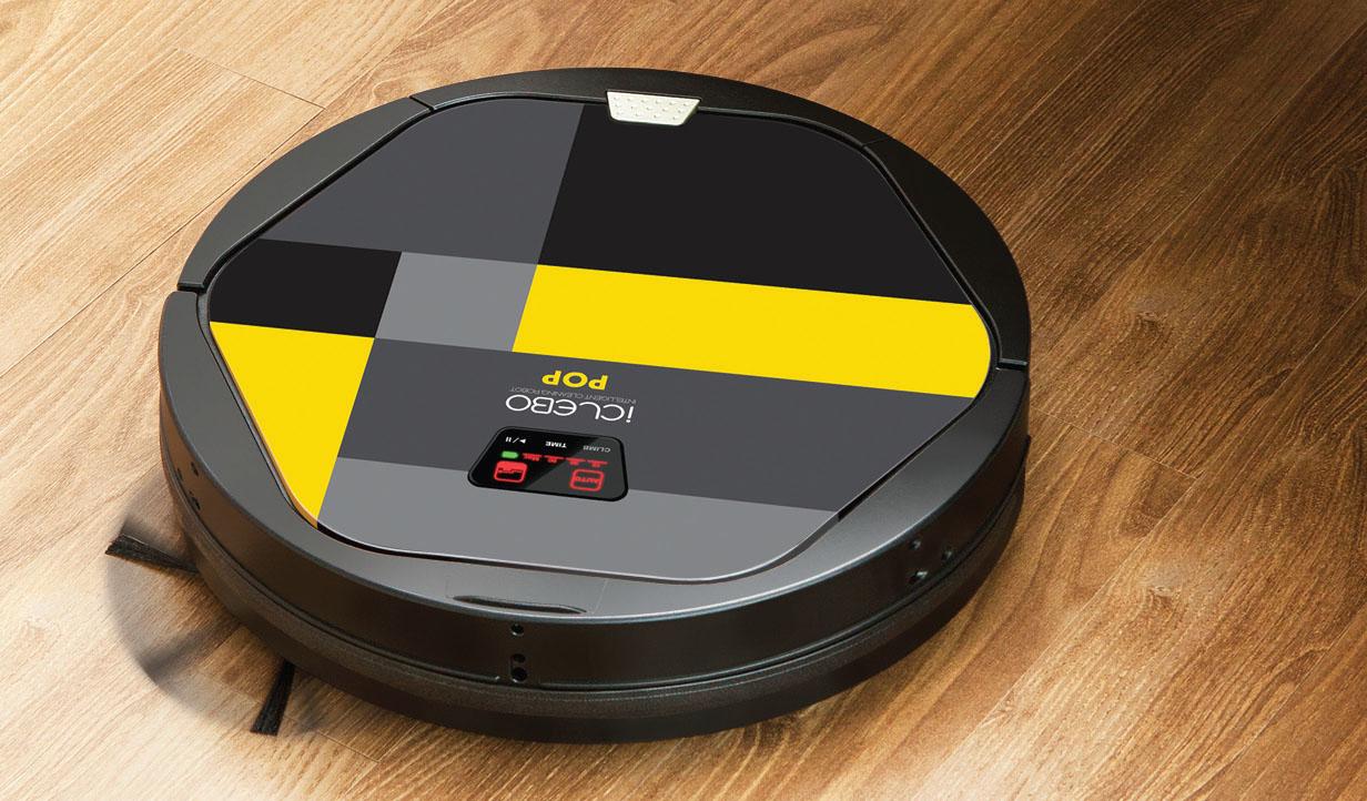 Робот-пылесос с боковыми щеточками