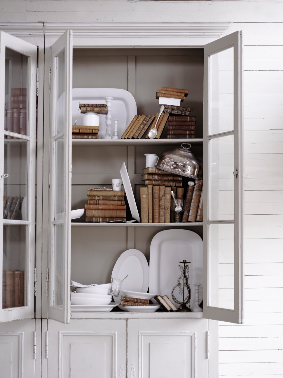 Декор шкафа в стиле прованс