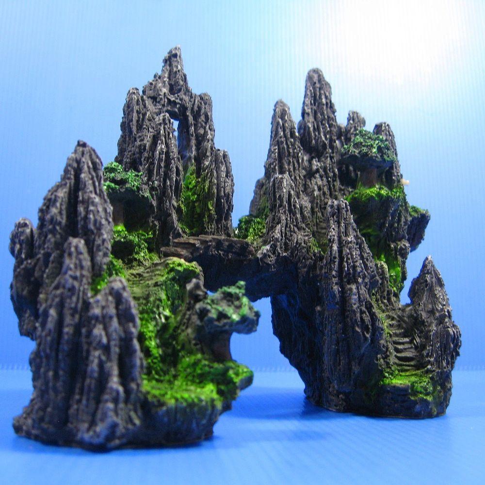 Декор для аквариума скалы