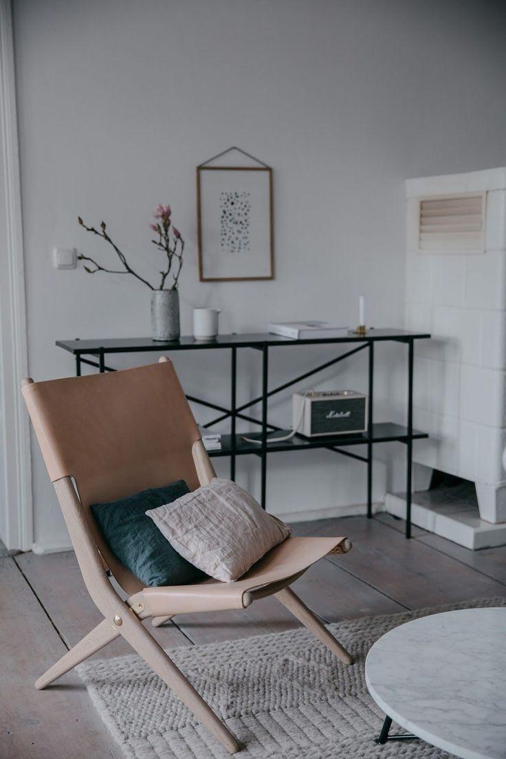 Складные стулья в скандинавском интерьере