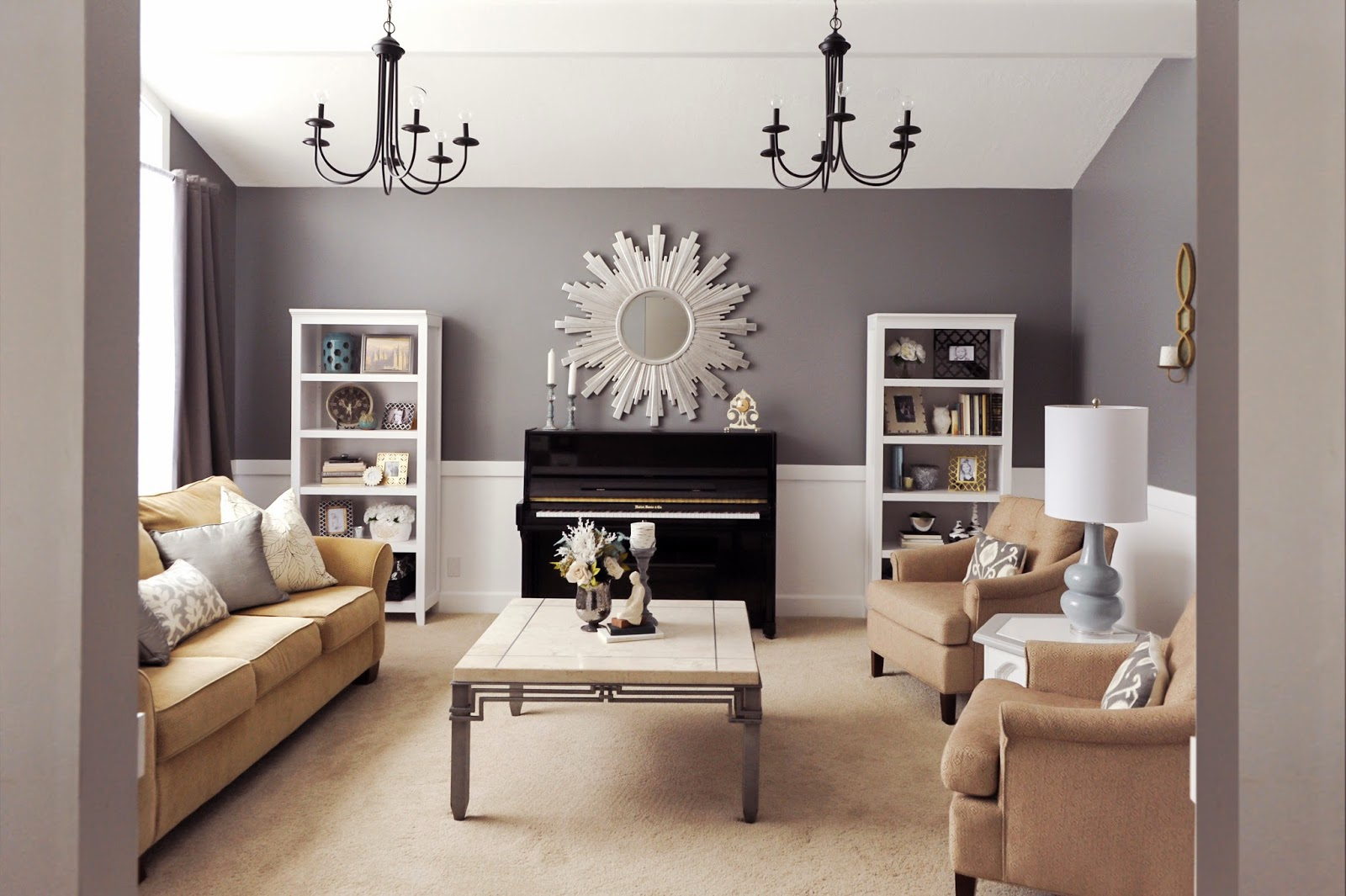 Пианино в современном интерьере дома