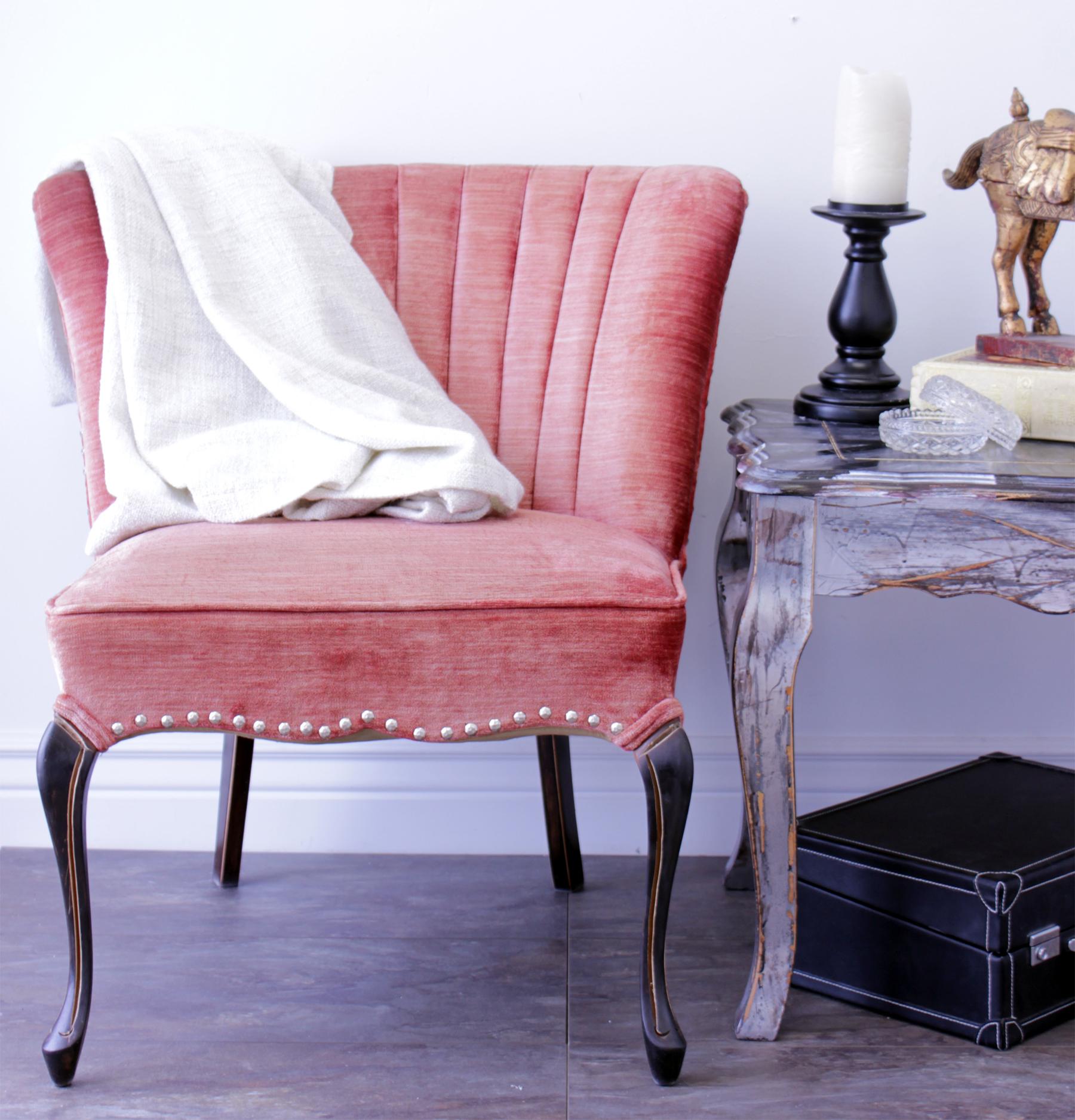 Кресло в стиле прованс в современном дизайне