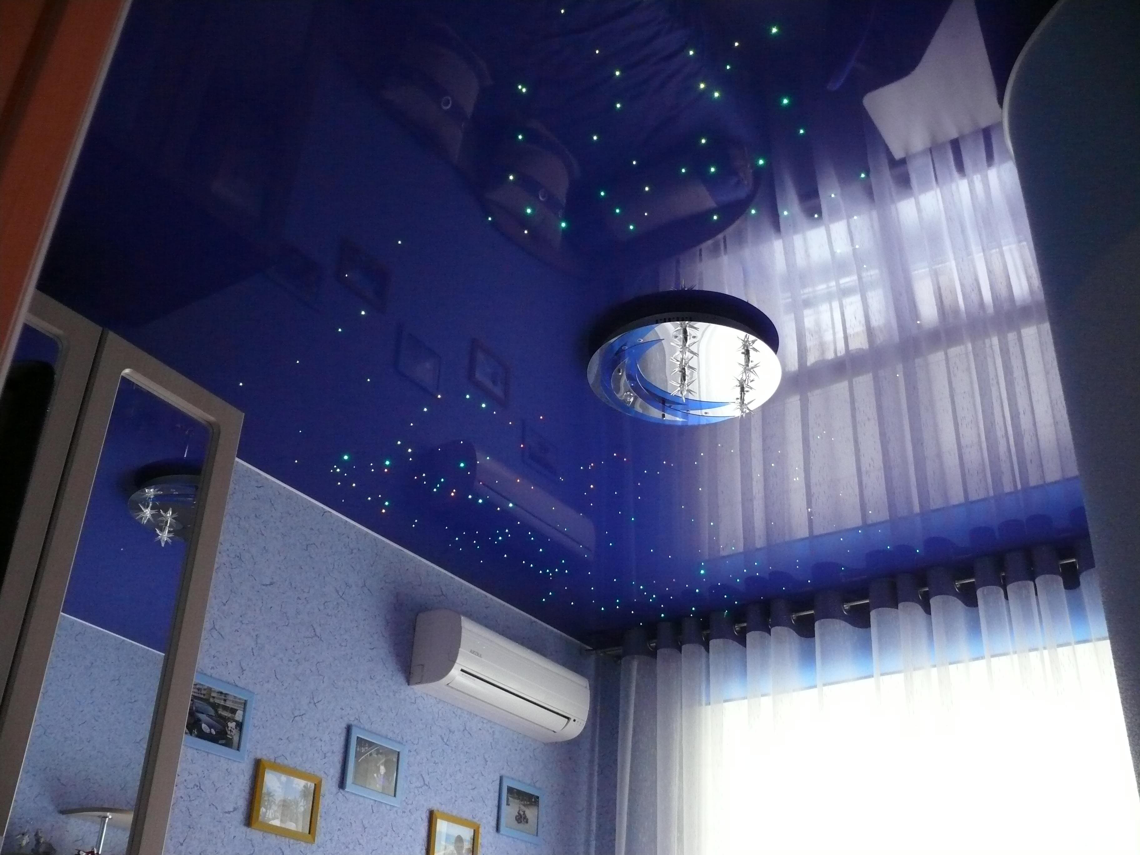 """Потолок """"звездное небо"""" с созвездиями"""