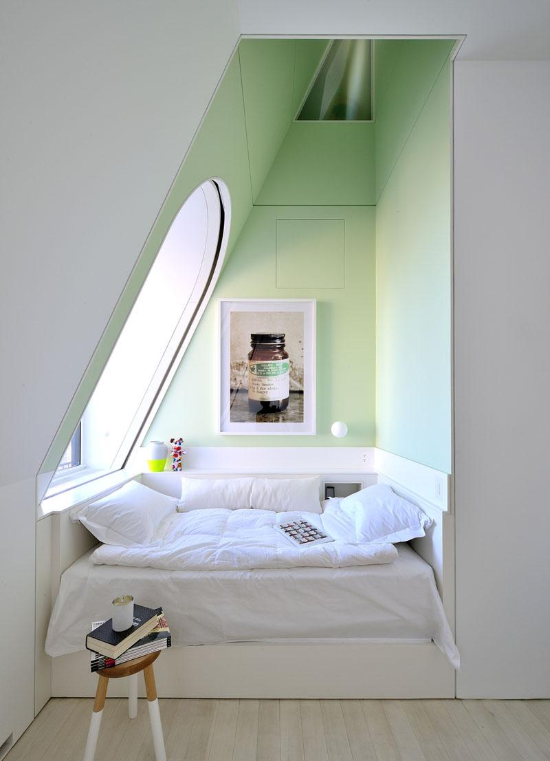 Место для чтения в спальне