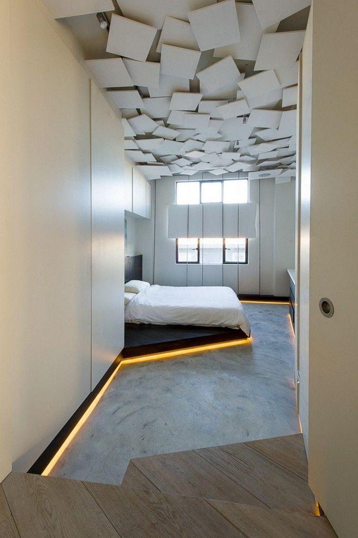 Декор из гипса в спальне