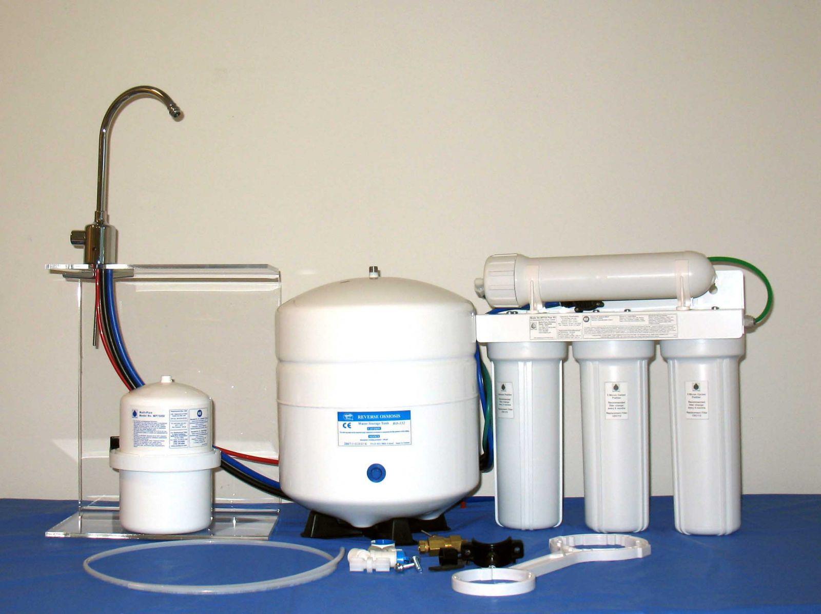 Стационарный фильтр для воды