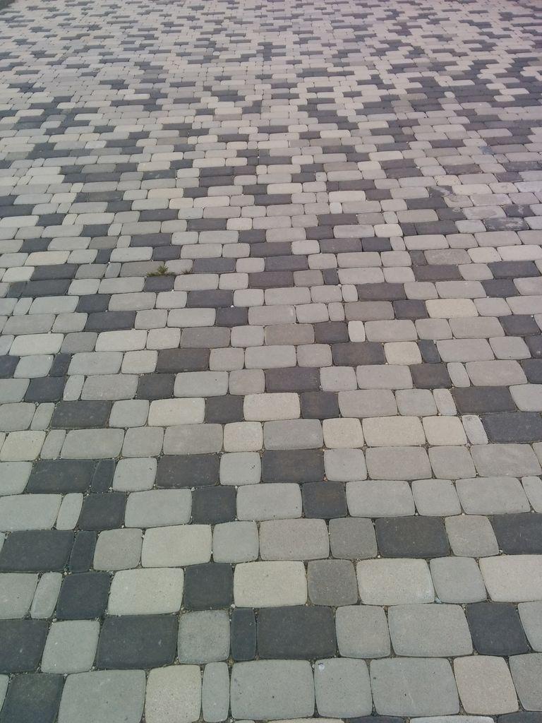 Тротуарная брусчатка под старину