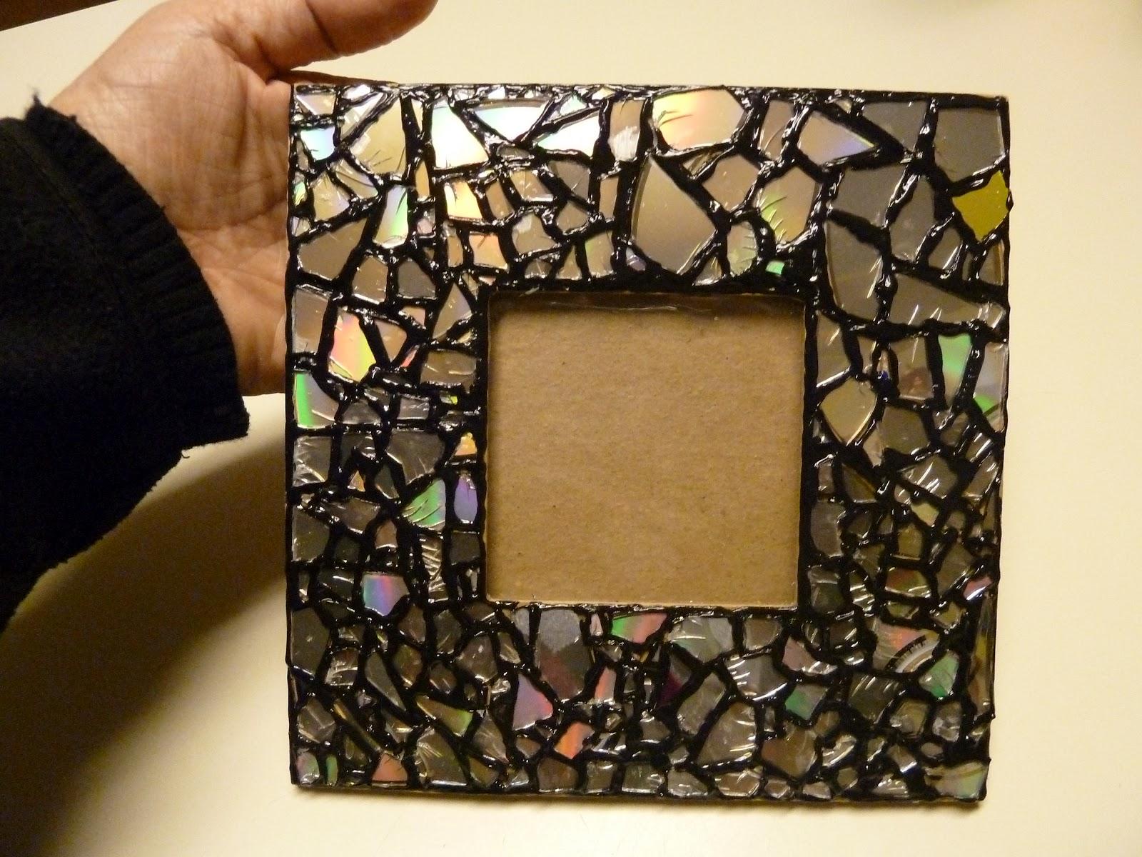 Декор рамки стеклом