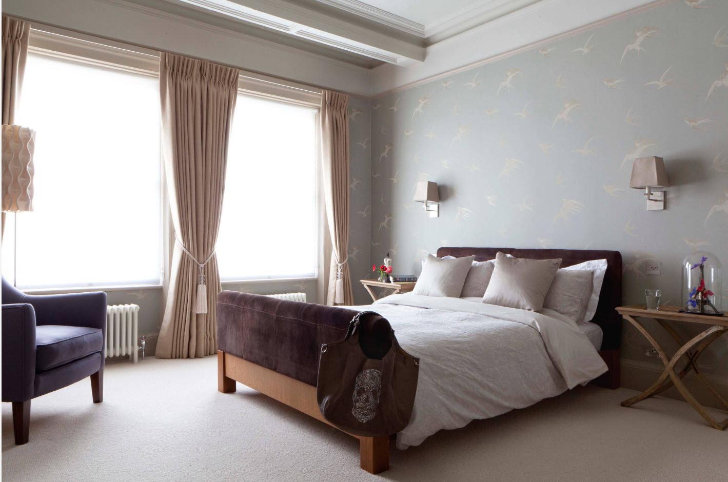 Дизайн спальни 2017