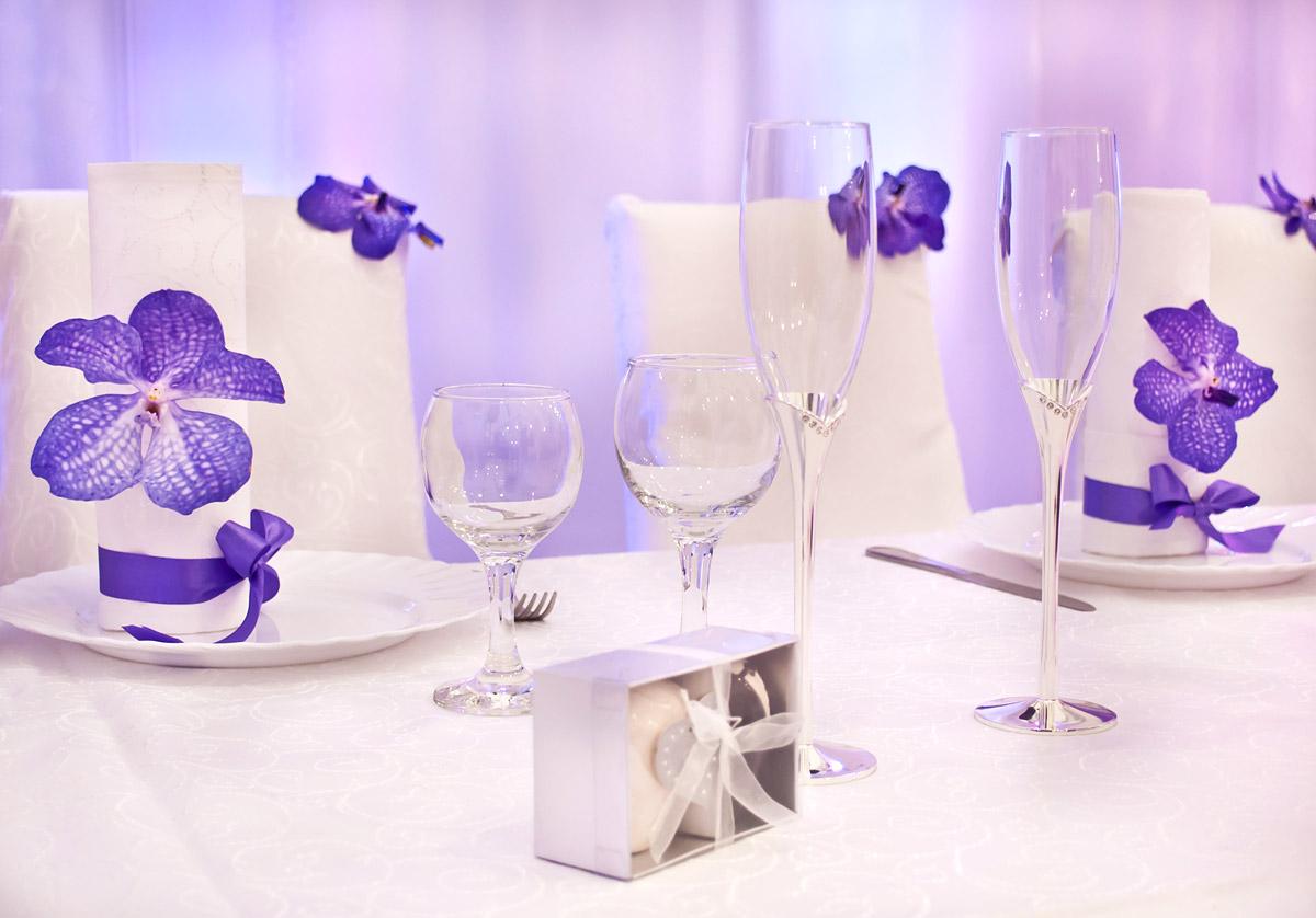 Свадебный декор свечи