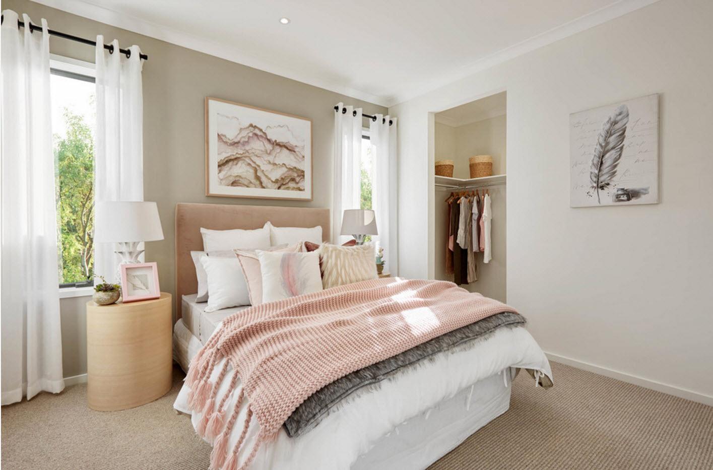 Дизайн спальни 2018