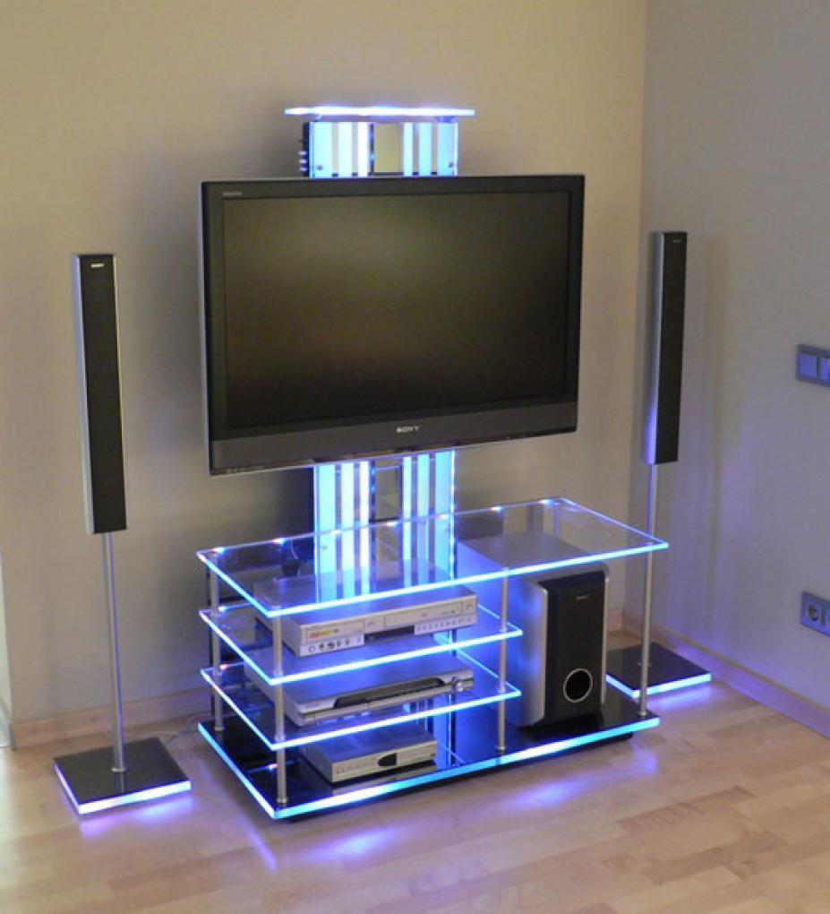 Тумба под телевизор с подсветкой