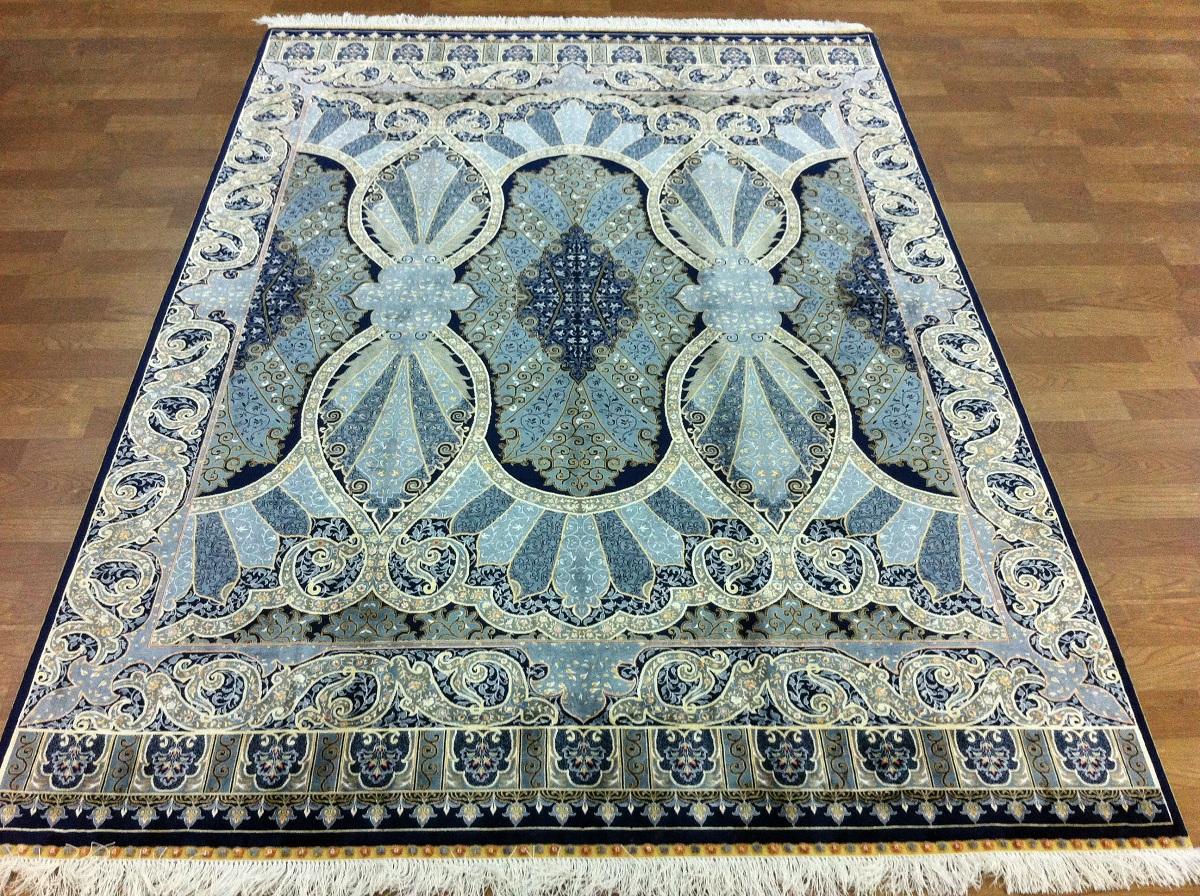Турецкий ковер из шелка