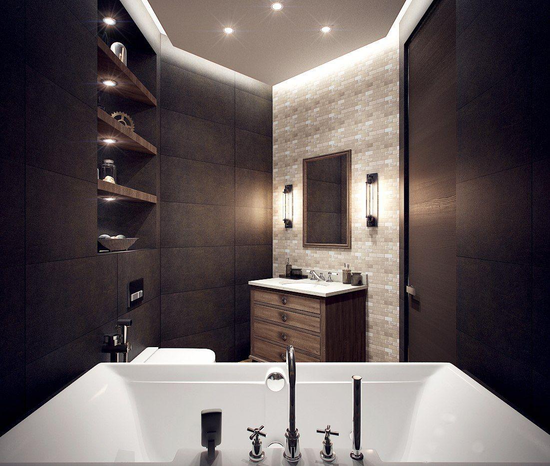 Мебельные светильники в ванной