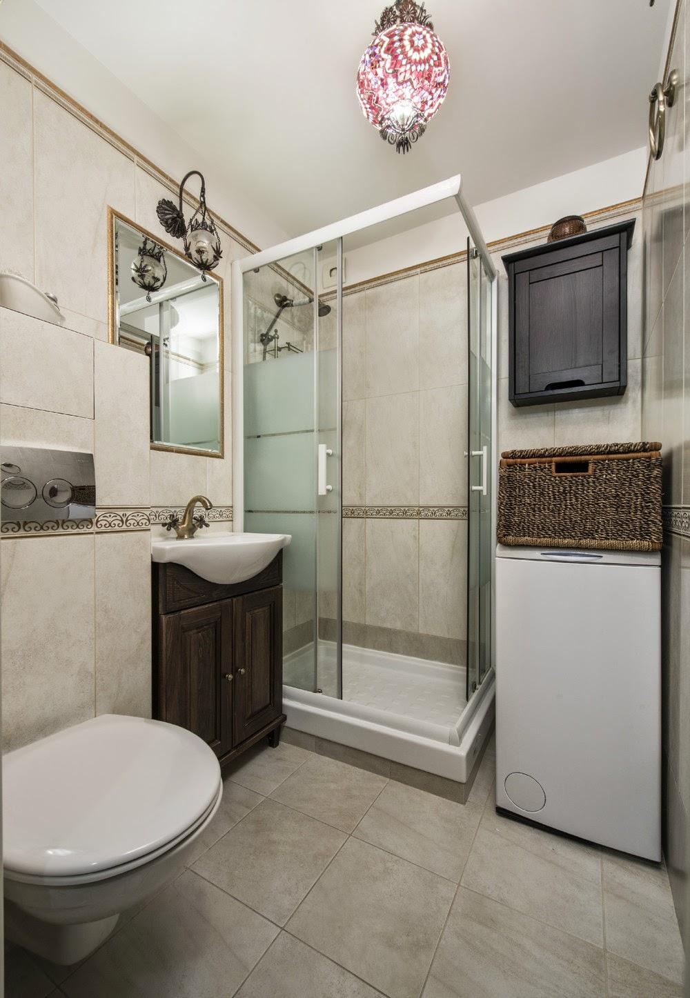 Ванная в интерьере двухкомнатной квартиры