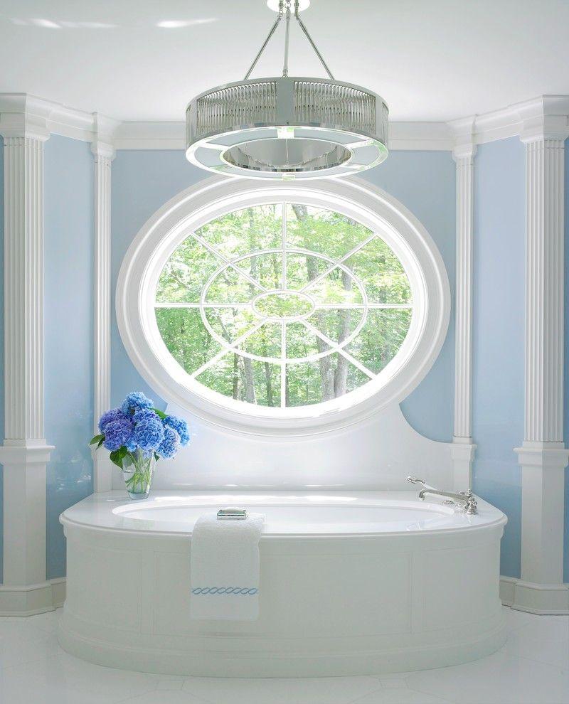 Декор из пенопласта в ванной