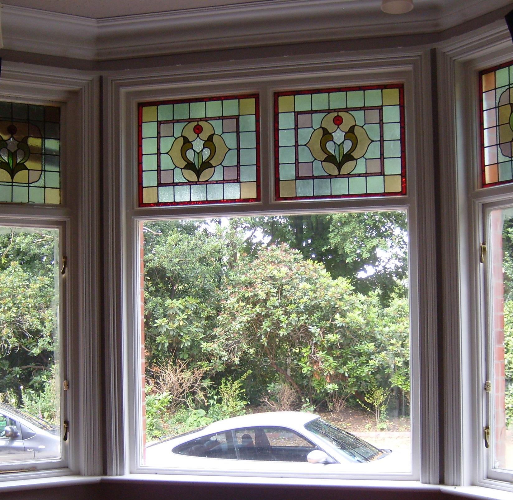 Реставрация витражного окна
