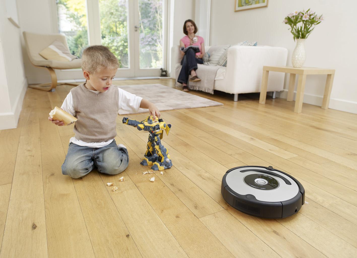 Робот-пылесос для влажной уборки