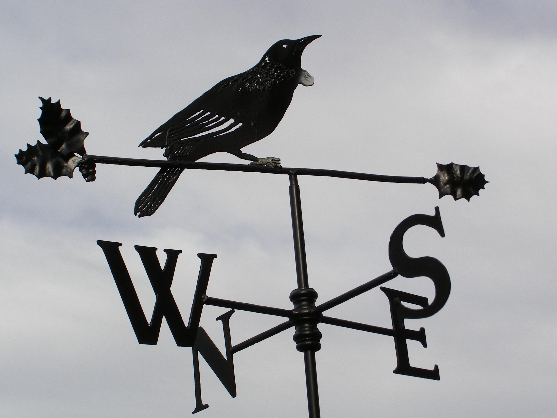 Флюгер в виде ворона