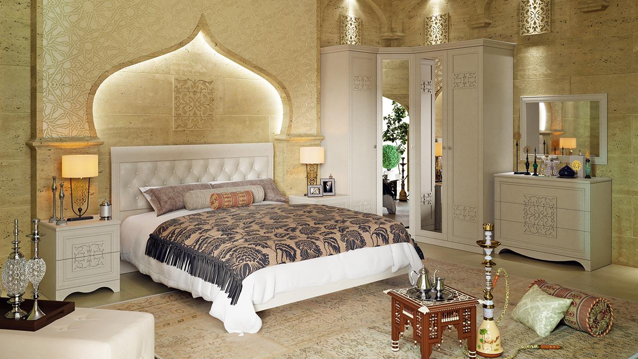 Спальный гарнитур в восточном стиле