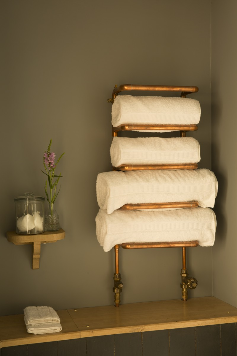 Декор труб полотенцесушителя