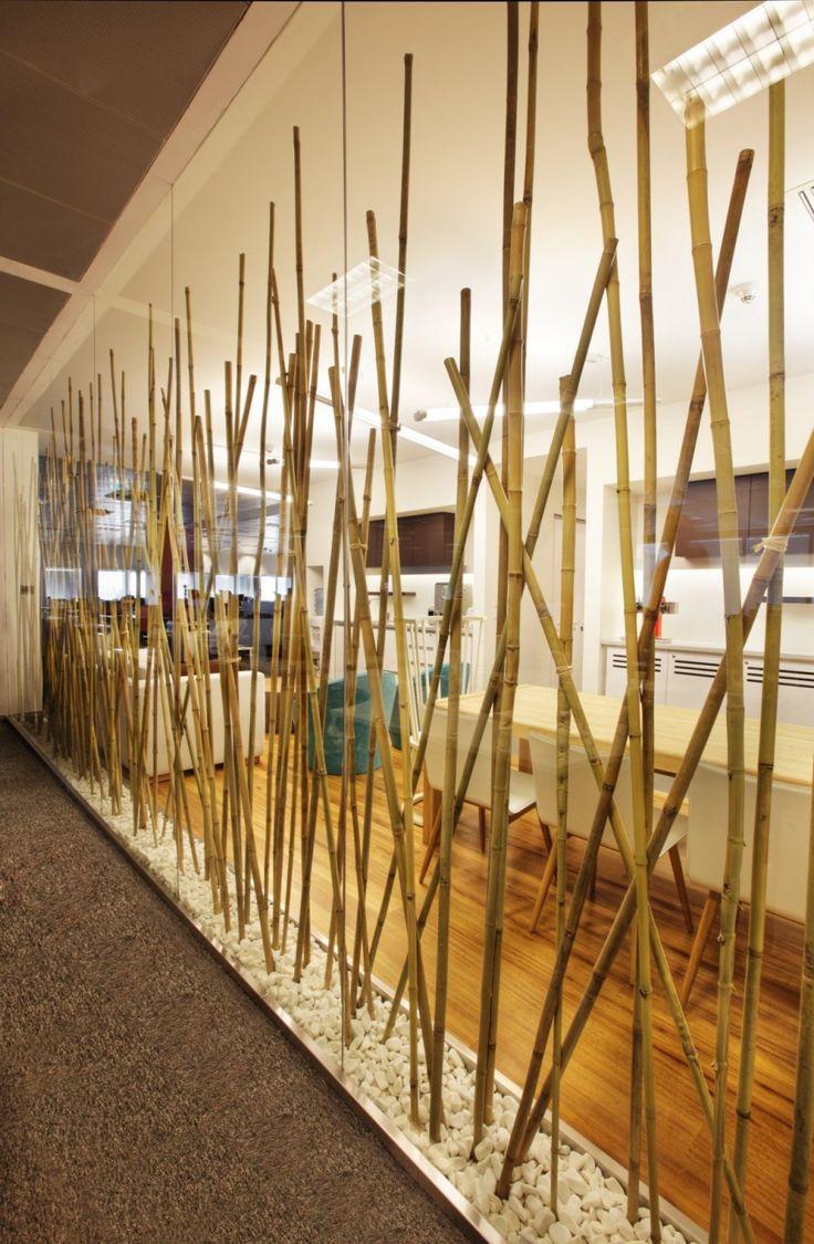 Зонирование при помощи бамбука