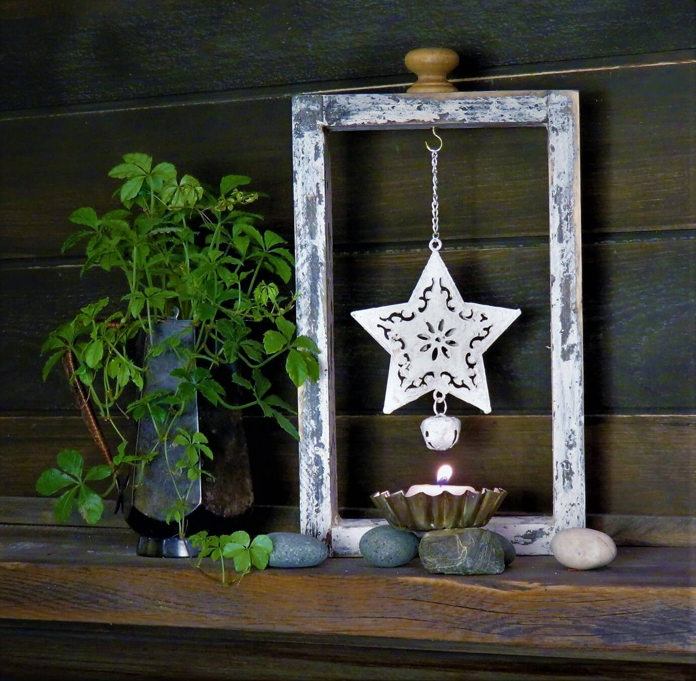 Декор из пенопласта звезда