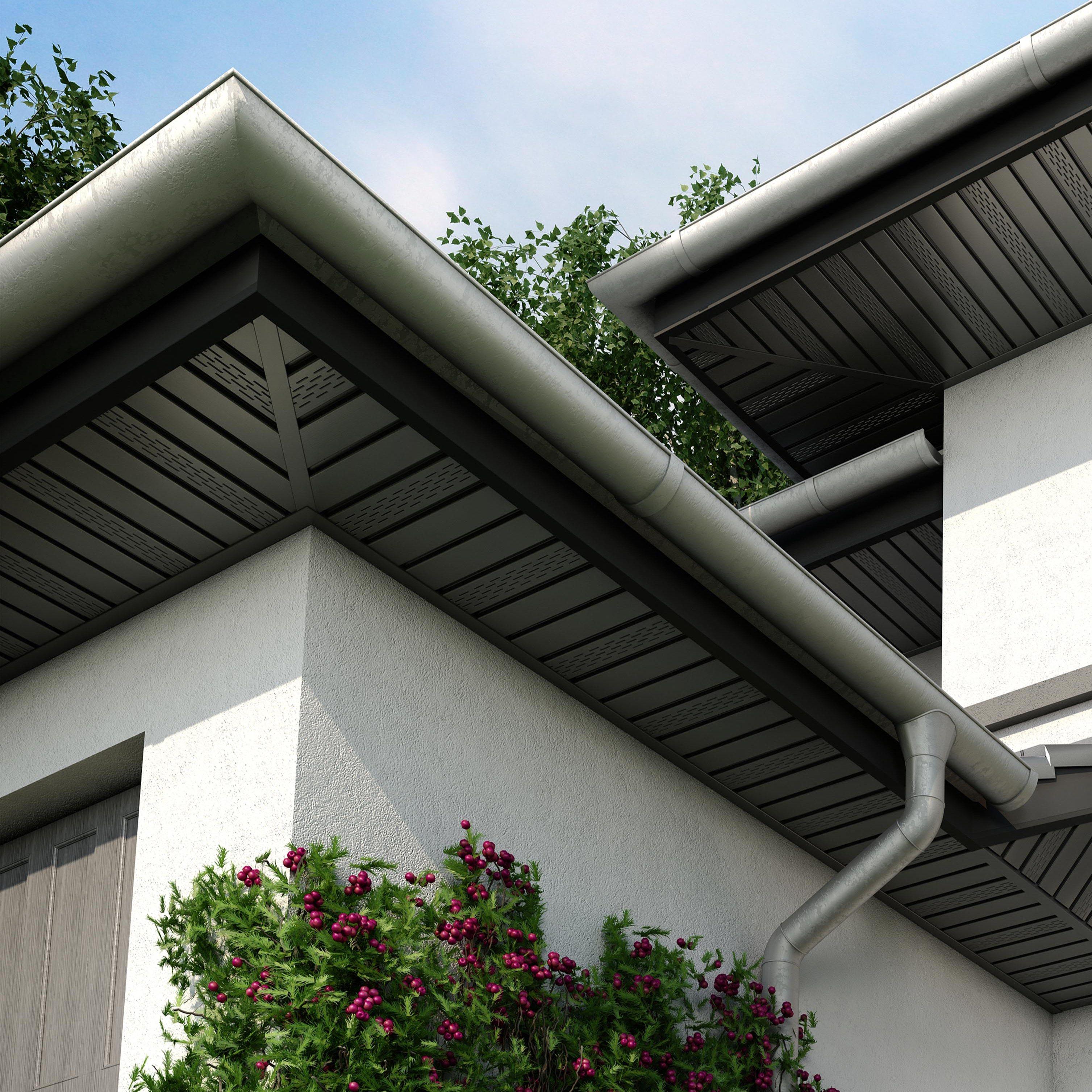 Алюминиевые софиты для крыши