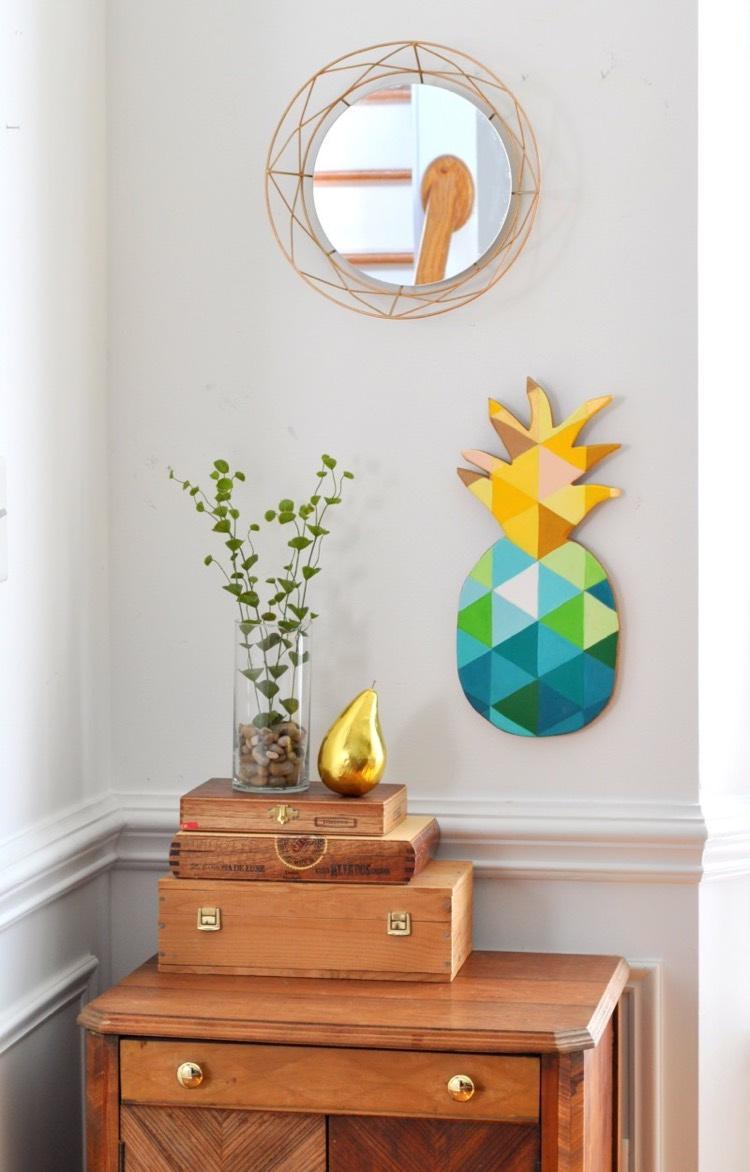 Объемная картина ананас