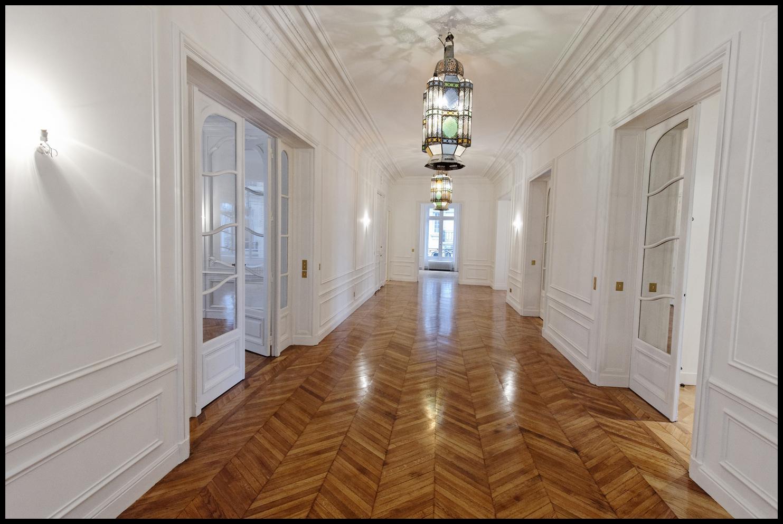 Стеновые панели для коридора в стиле ар-деко