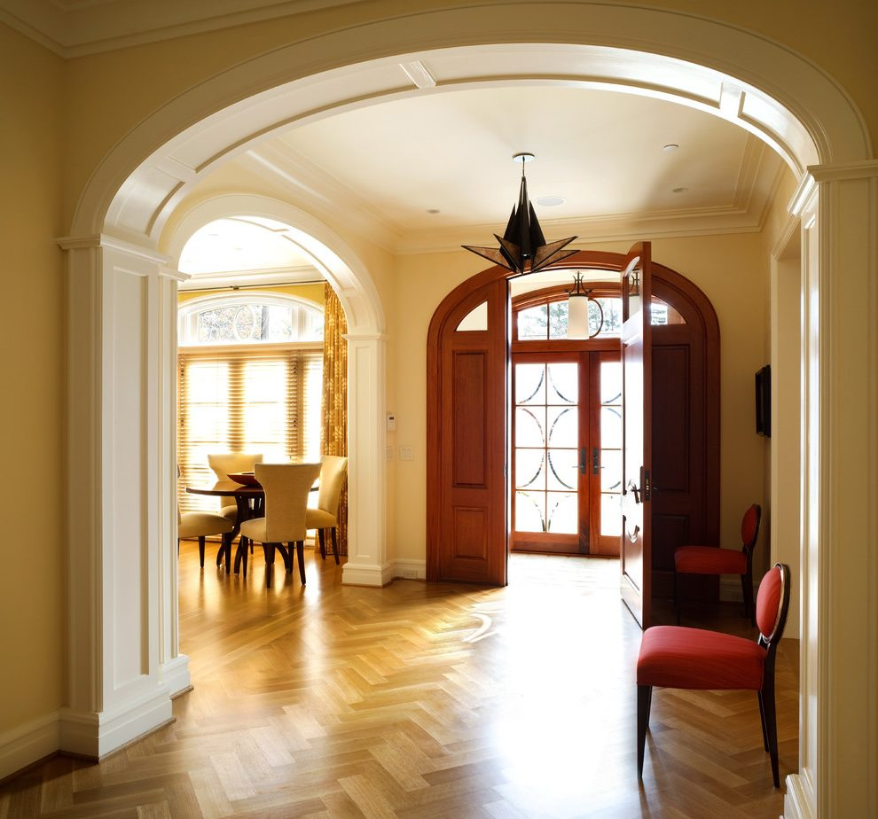 Стеновые панели для арки в коридоре