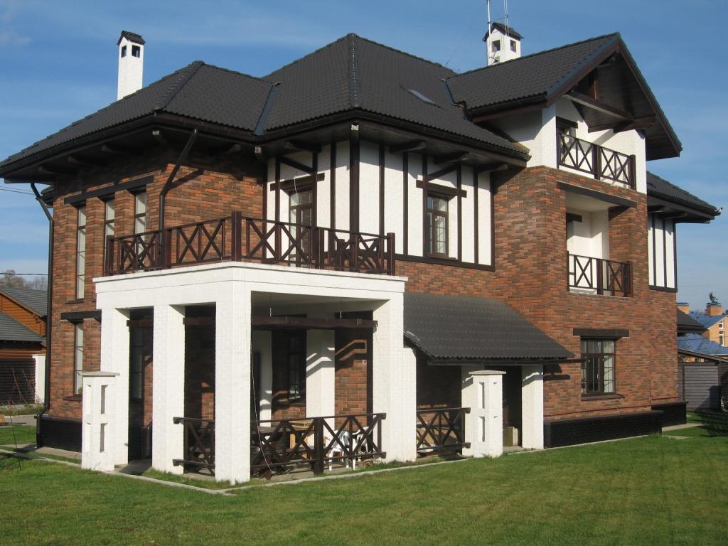 Проект дома из пеноблоков в австрийском стиле
