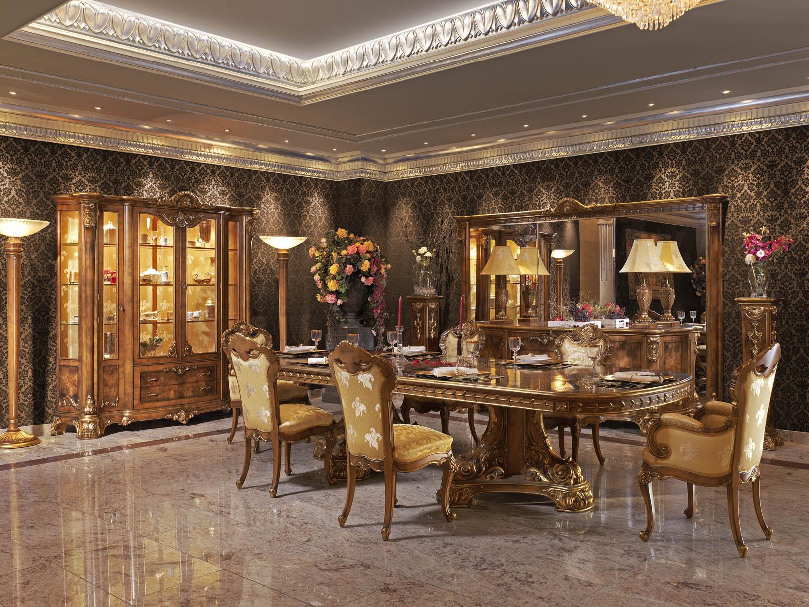 Резная мебель в стиле барокко