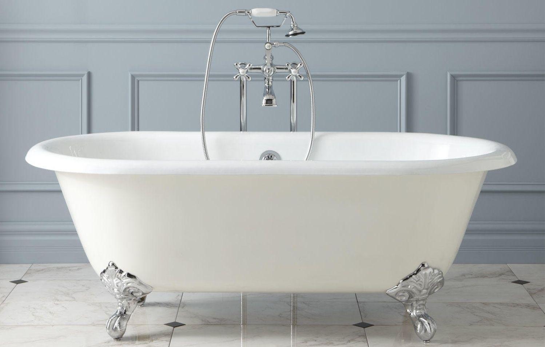 Реставрация белой ванны