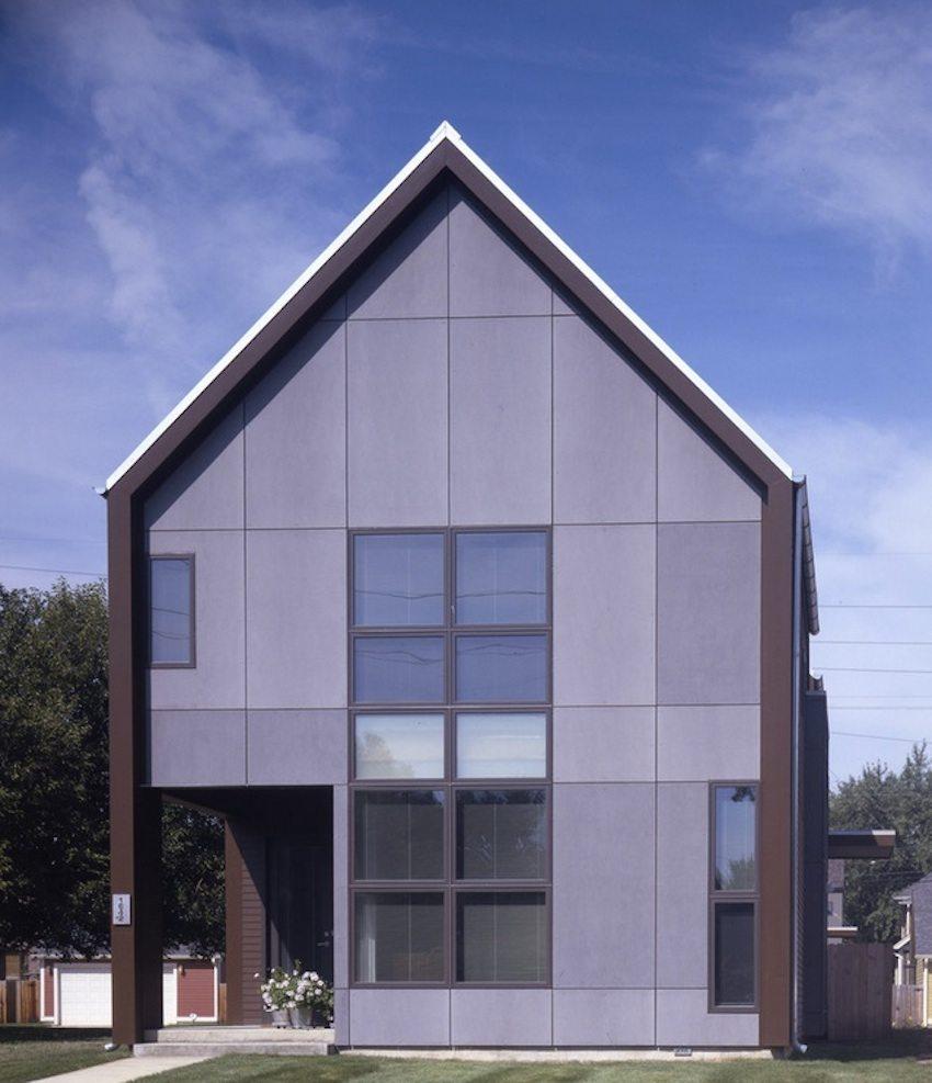 Бетонные фасадные панели