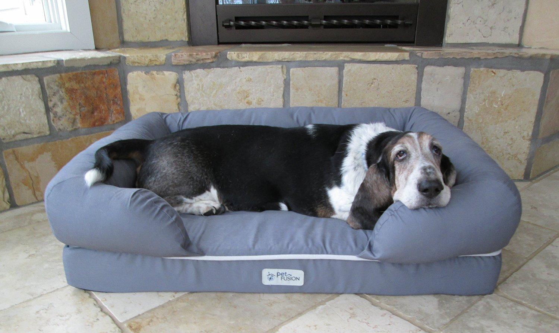 Лежанка для собаки с бортиками