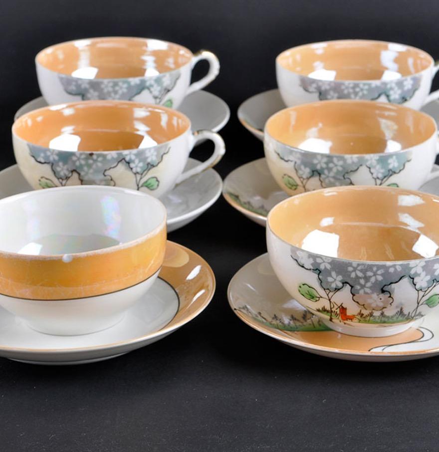 Чашки из японского фарфора