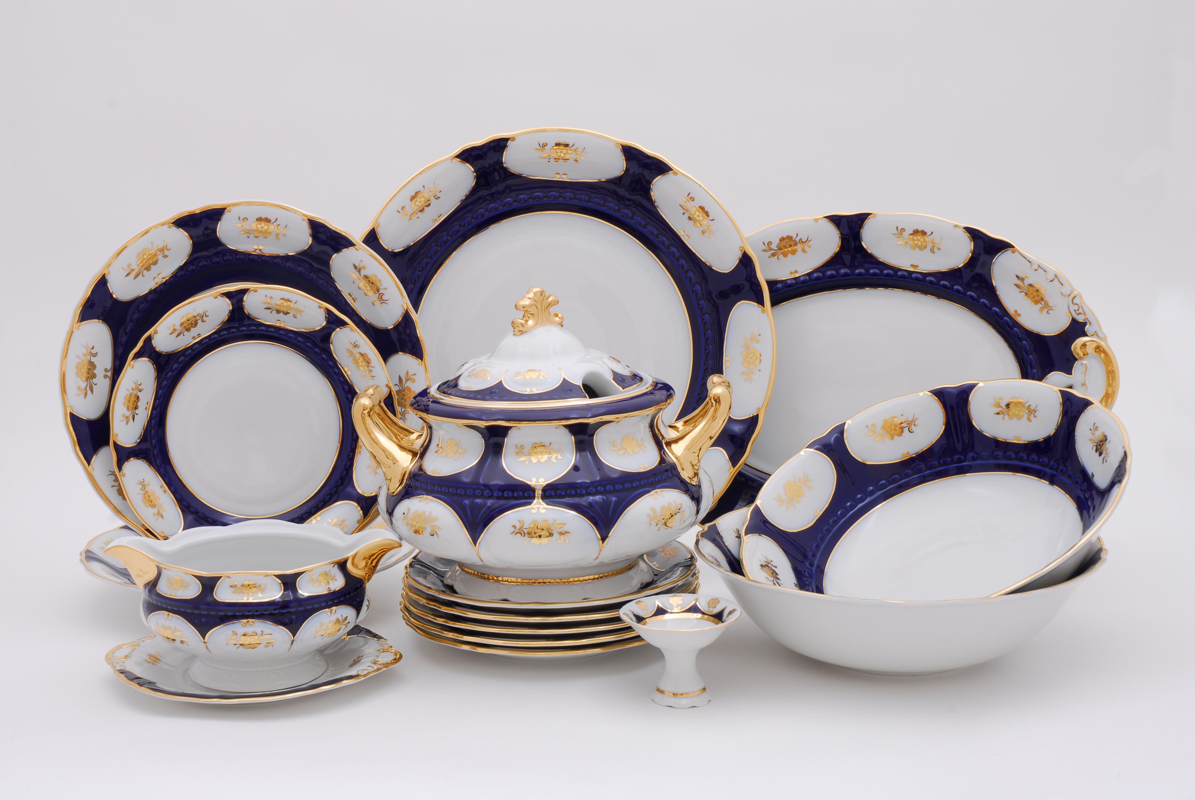 Чешская фарфоровая посуда