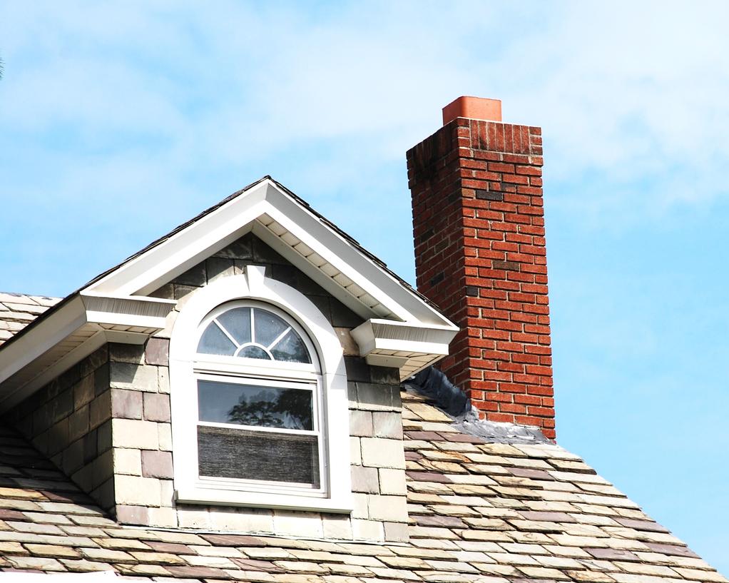Крыша с мансардой из черепицы
