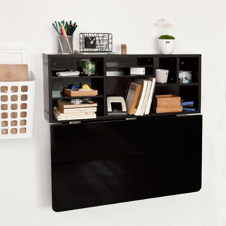 Откидной стол черный