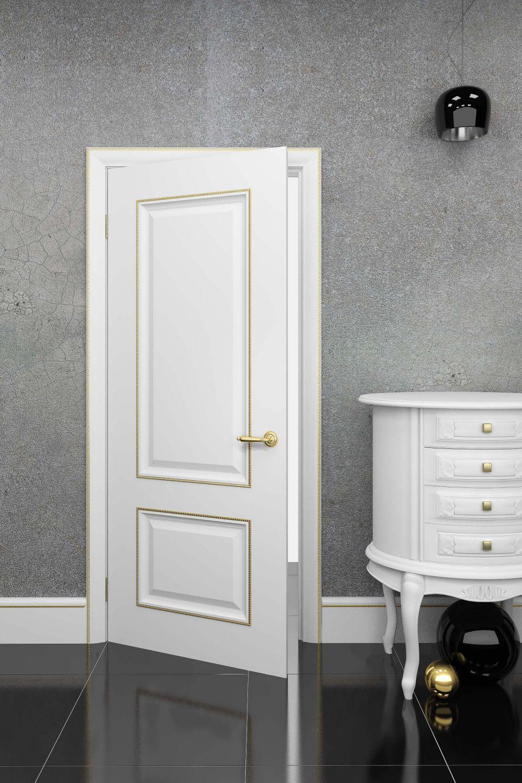 Дверь из CPL пластика в классическом стиле