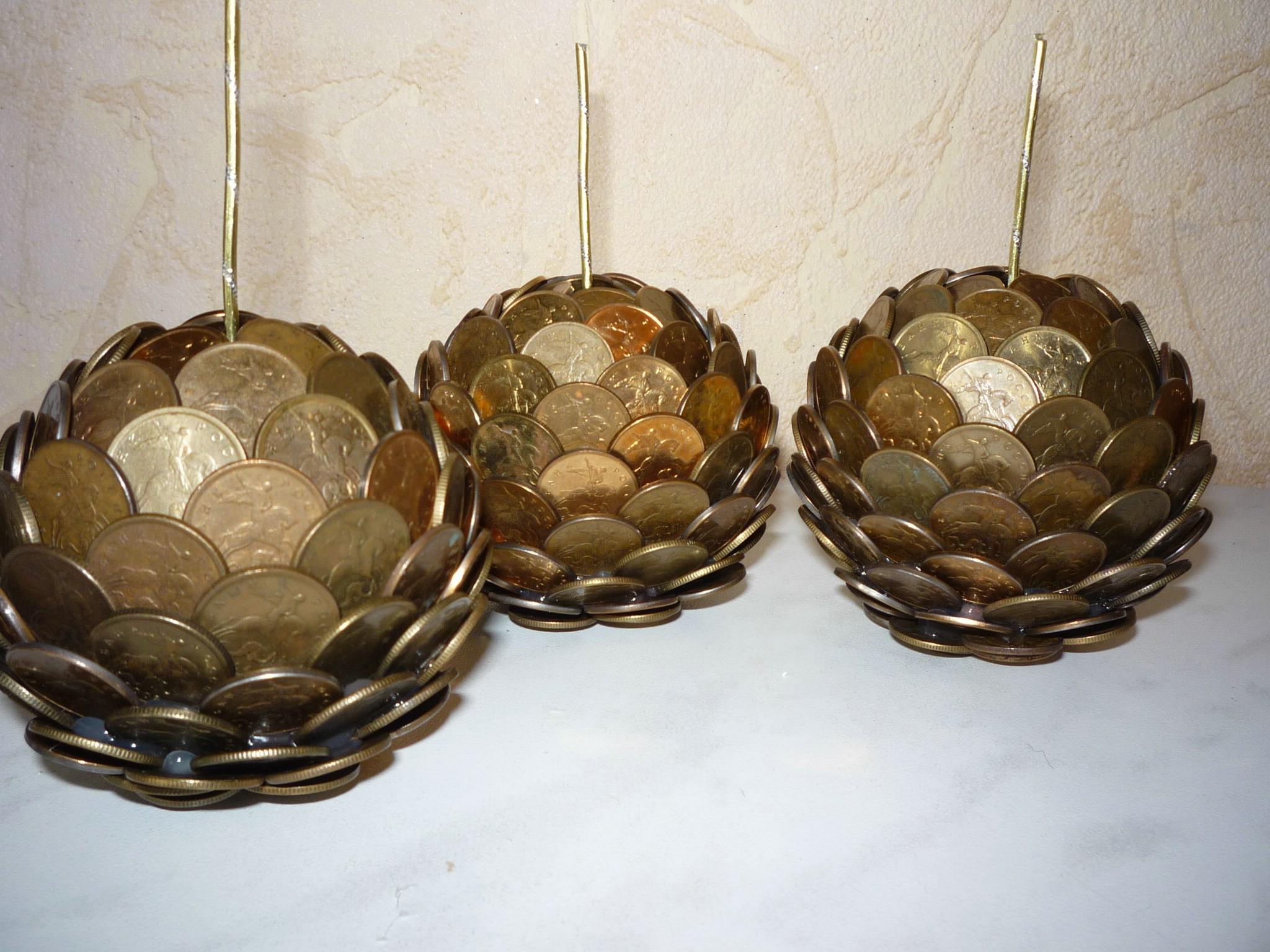 Декор из монет