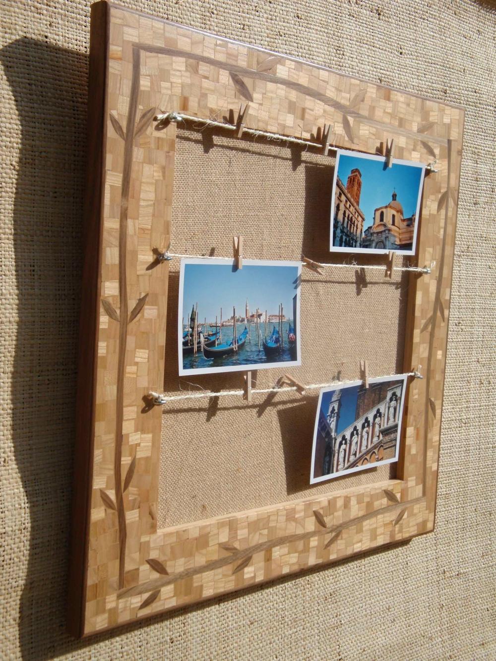 Доска для заметок деревянная