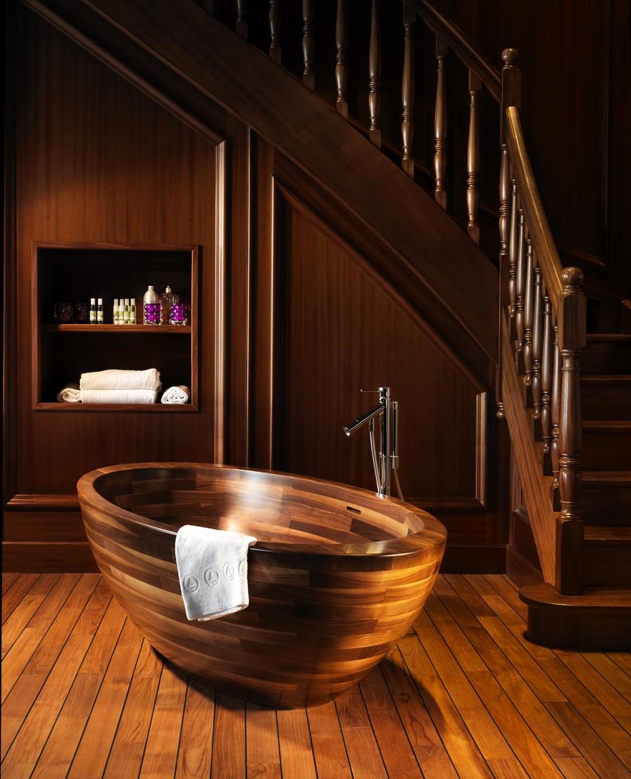 Реставрация деревянной ванны
