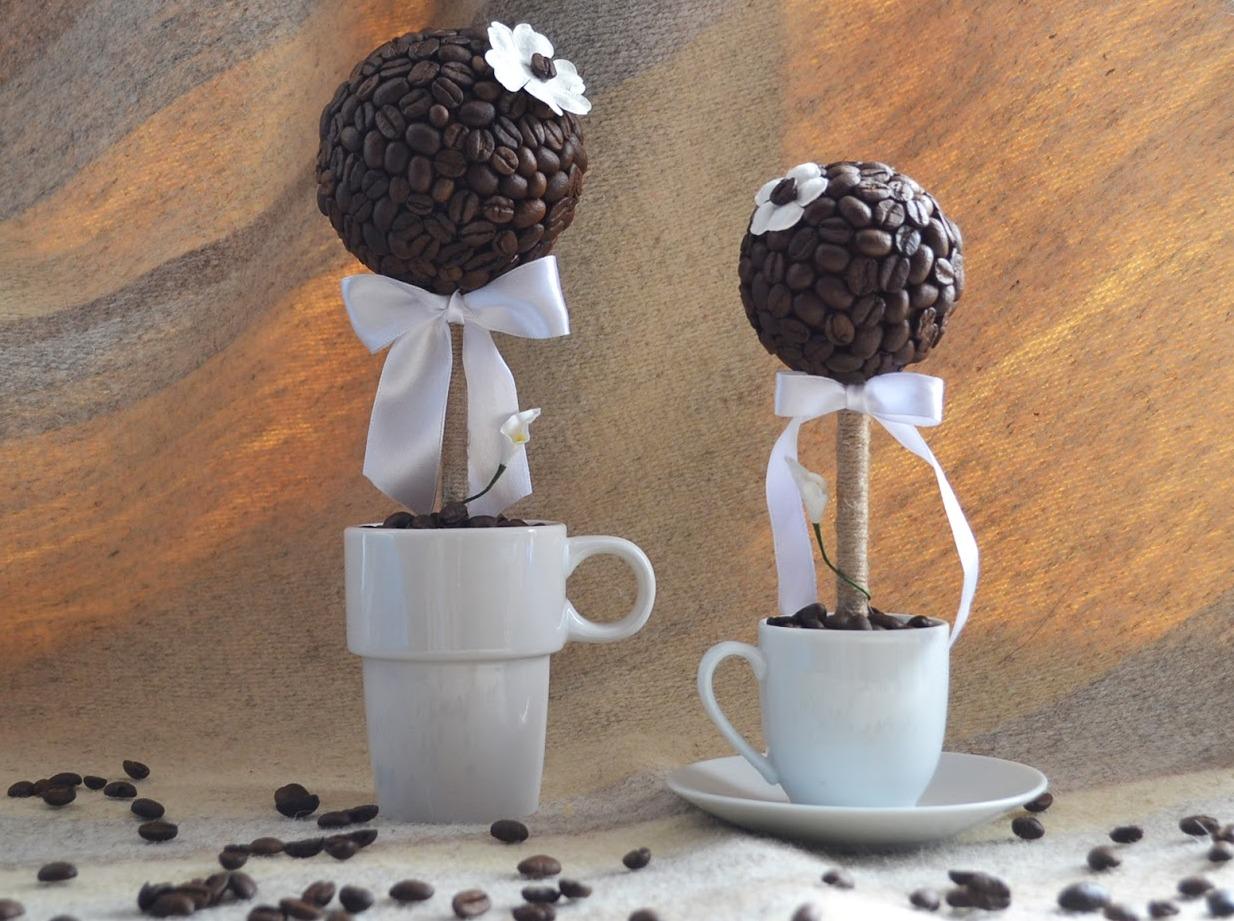 Дерево из кофе