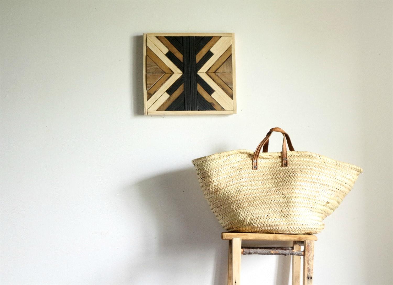 Объемная картина деревянная