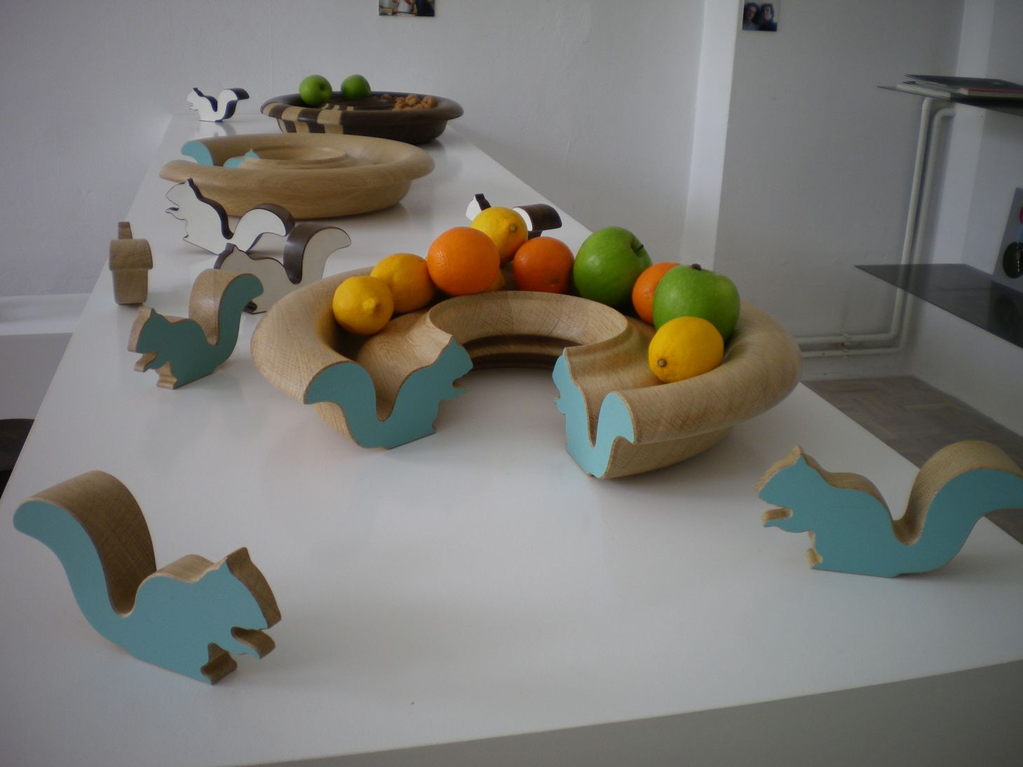 Оригинальный дизайн фруктовницы